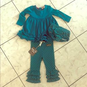 Matilda Jane 3 piece outfit NWT